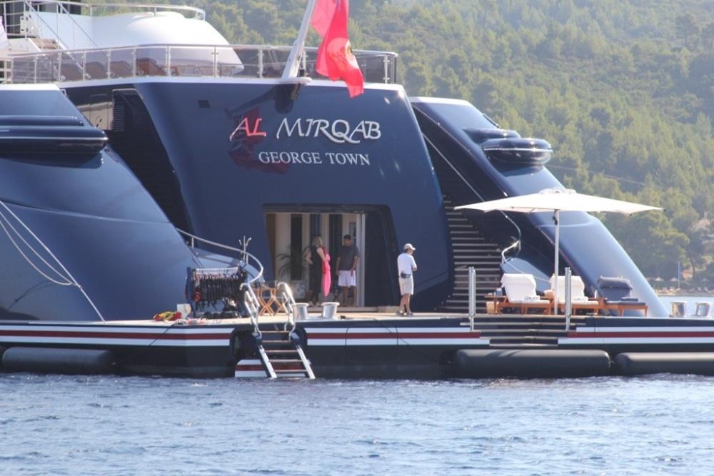 Mega-Yacht Al Mirqab (4/6)