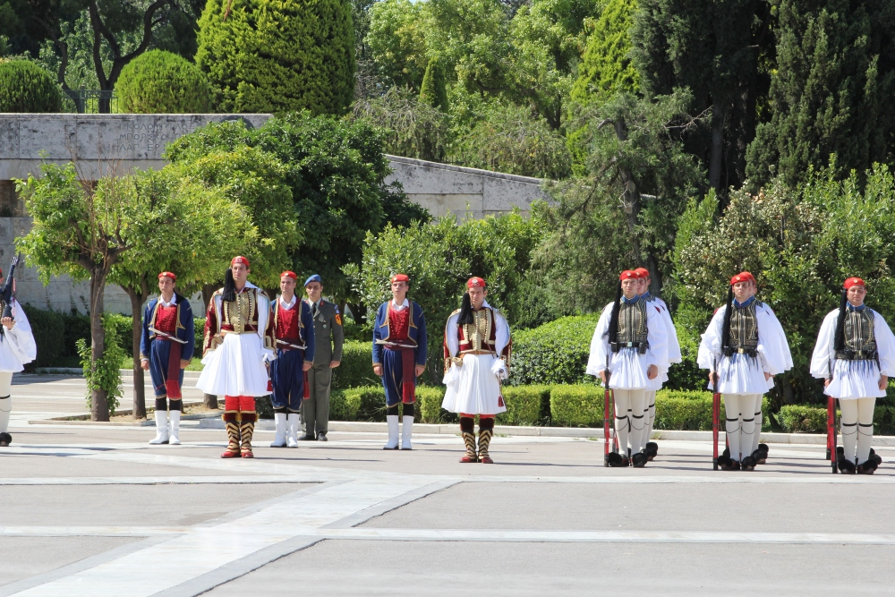 Changing of the Evzone Guards (5/6)