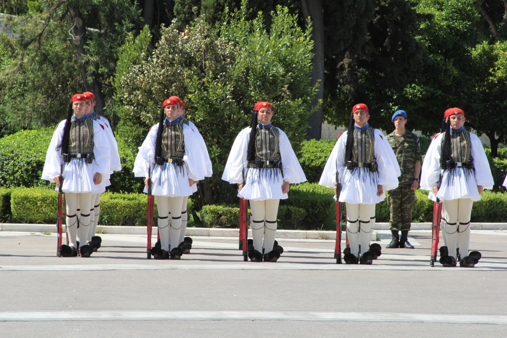 Changing of the Evzone Guards (6/6)