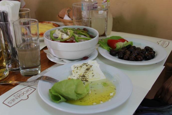 Feta & Olives, Greek Salad