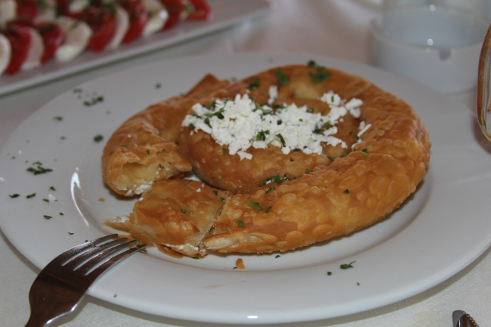 Skopelos cheese pie