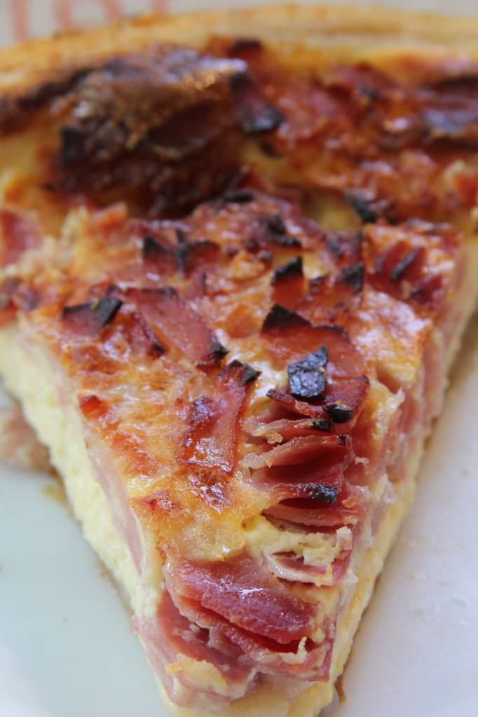 Ham Quiche with (apparently) extra ham