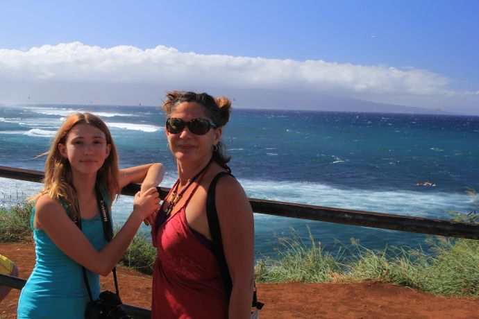 Tawny and Clara @Ho'okipa