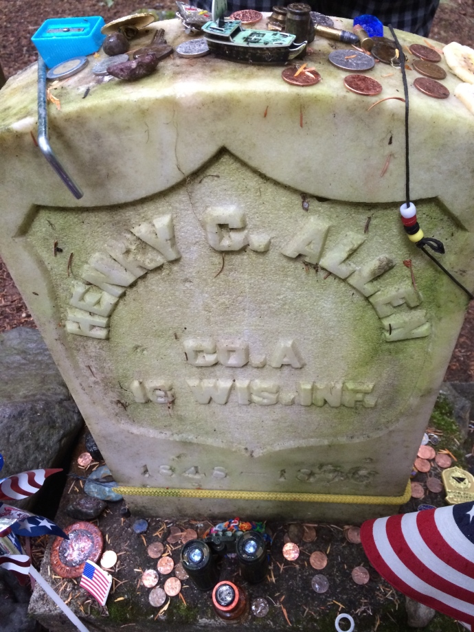 Decorated Tombstone