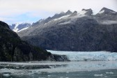 First glimpse of Margerie Glacier