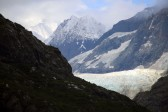 Margerie Glacier and mountains