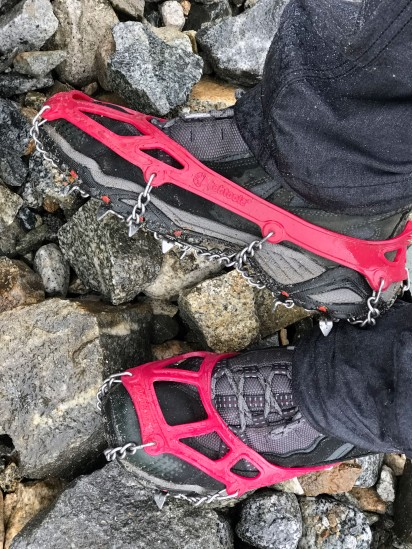 Crampons on!