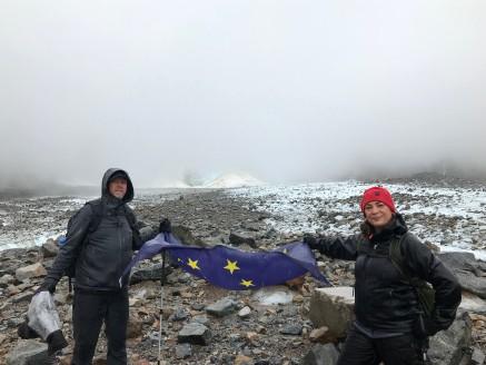Alaska Flag on Laughton