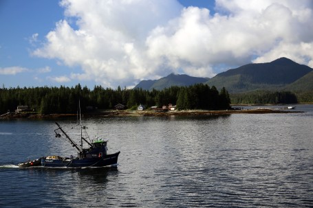 Fishing boat in Tongass Narrows