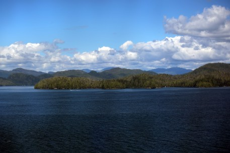 Islands around Ketchikan