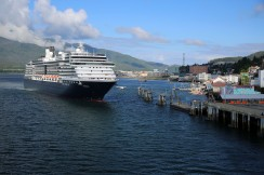 Holland America arrive after us