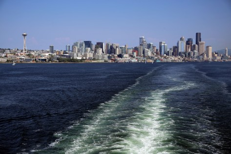 Elliott Bay: Leaving Seattle