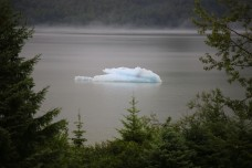 Ice berg in Mendenhall Lake